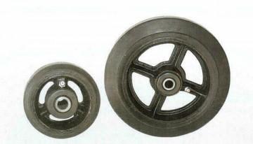 Колеса большегрузные с резиновым покрытием, до 300 кг