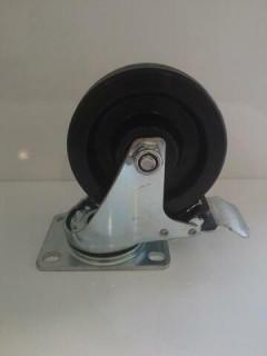 Колесо поворотное с тормозом SPHb125