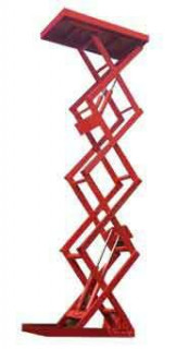 Стационарные подъемные столы с двойными ножницами LM HCL-0.1-1.2