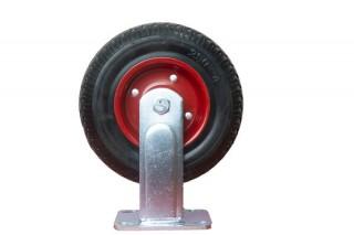 Колесо большегрузное стальное поворотное, протекторная резина PRF 200